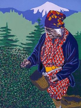 Pacific Northwest Native American Art Serigraph Prints